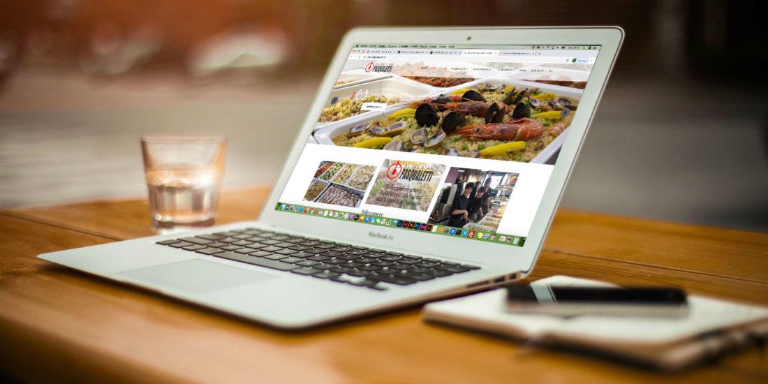 Realizzazione sito web Gastronomia Alimentari Pasqualetti
