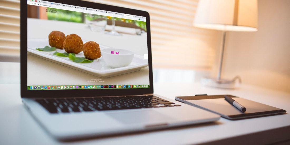 La Locanda di Pietracupa Realizzazione sito web responsive by SG Consulting