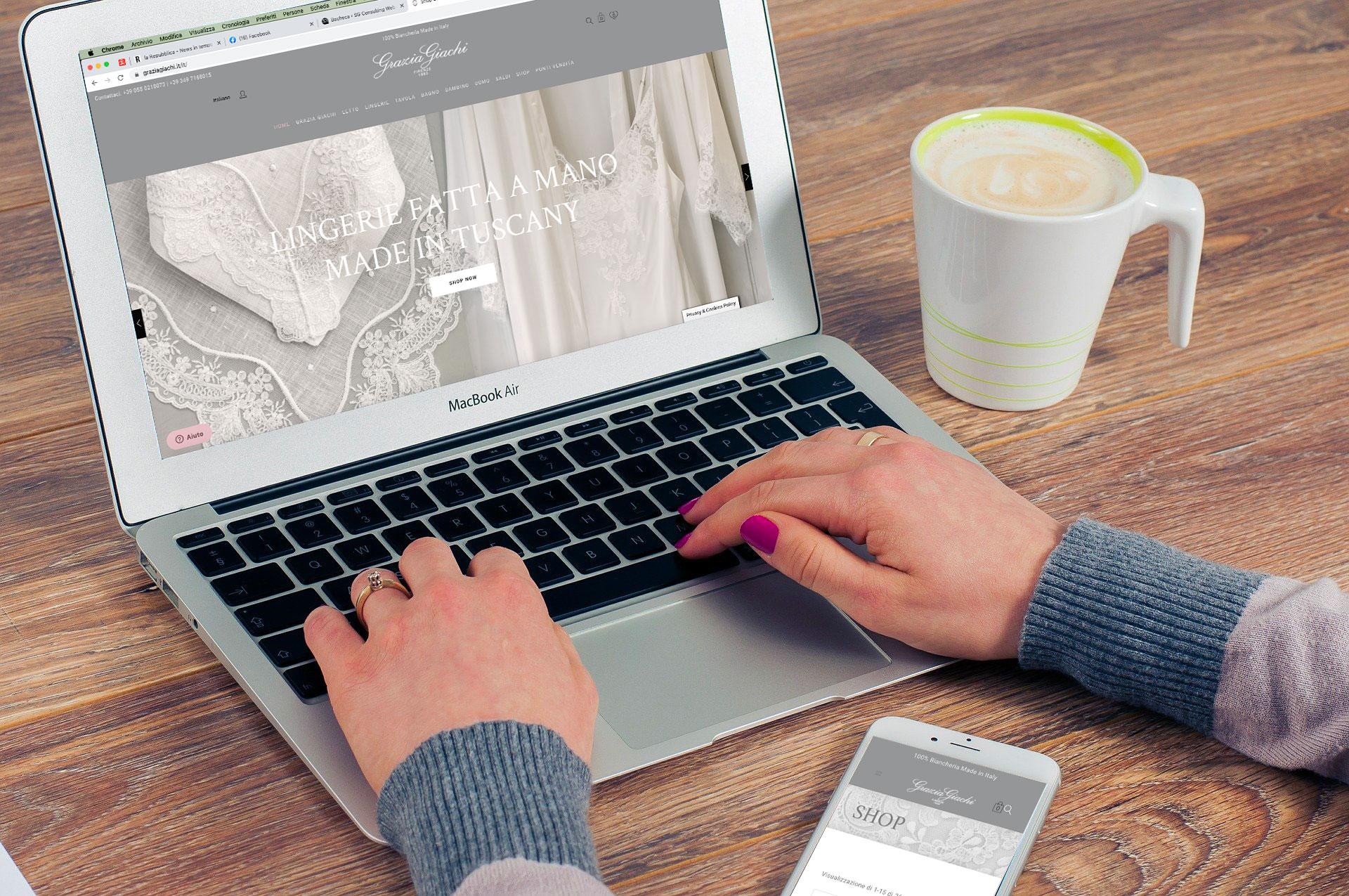 SG Consulting Realizzazione E-Commerce WordPress