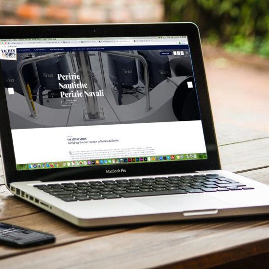 Realizzazione sito web SG Consulting per Yachts and Ships