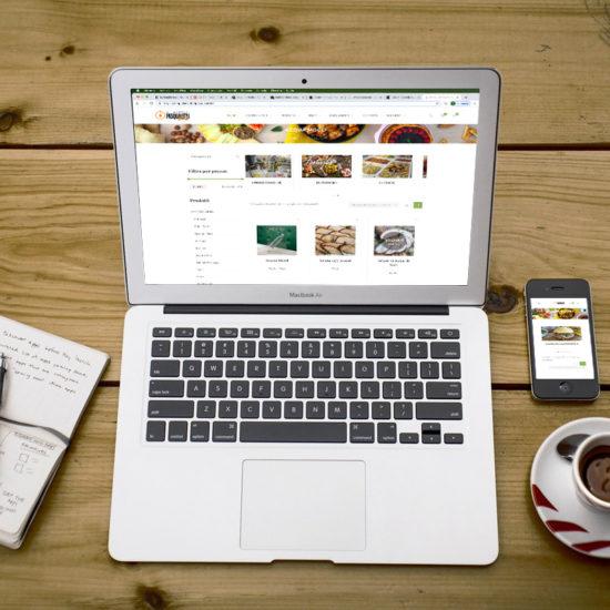 realizzazione shop online alimentari pasqualetti